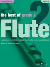 Adams Sally  - Best Of Grade 2 + Cd - Flute And Piano