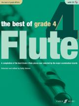 Adams Sally - Best Of Grade 4 Flute + Cd - Flute And Piano