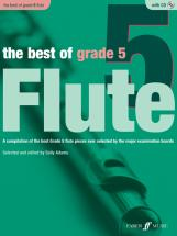 Adams Sally  - Best Of Grade 5 + Cd - Flute And Piano