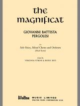 Pergolesi Giovanni Battista - Magnificat, The - Vocal Scores (par 10 Minimum)