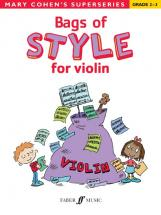 Cohen Mary - Bags Of Style For Violin - Violin Solo