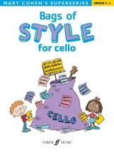 Cohen Mary - Bags Of Style For Cello - Cello Solo