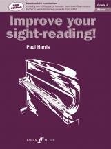 Harris Paul - Improve Your Sight-reading! Grade 4 - Piano
