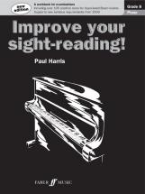 Harris Paul - Improve Your Sight-reading! Grade 8 - Piano