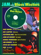 Jam With The Blues Masters + Cd - Guitar Tab