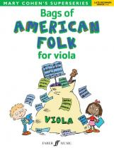 Cohen Mary - Bags Of American Folk For Viola - Viola Solo
