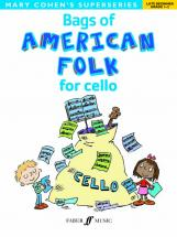 Cohen Mary - Bags Of American Folk For Cello - Cello Solo