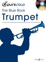 Puresolo - Blue Book + Cd - Trumpet Solo