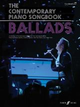 Contemporary Piano Songbook - Ballads - Pvg