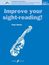 Harris Paul - Improve Your Sight-reading ! Violin Grade 1