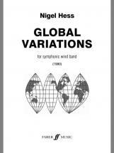 Hess Nigel - Global Variations - Symphonic Wind Band