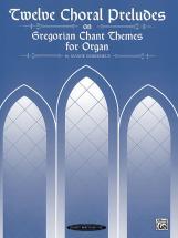 Demessieux J - 12 Chorale Preludes On Greg Chant - Organ