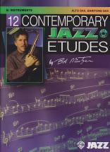 Bob Mintzer - 12 Contemporary Jazz Etudes Sax Alto And Baritone + Cd