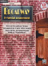 Broadway By Special Arrangement + Cd - Clarinette