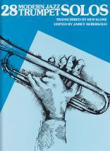 28 Modern Jazz Trumpet Solos Book 1 - Trompette