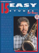Bob Mintzer - 15 Easy Jazz, Blues, Funk Etudes + Cd