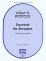 Potstock William H. - Souvenir De Sarasate - Violon and Piano