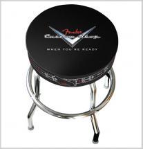 Fender Tabouret De Bar 30\' 76 Cm Custom Shop Motif Pinstripe