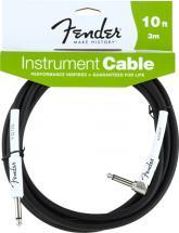 Fender Cable Instrument Performance Series 3 M Coude Noir