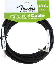 Fender Cable Instrument Performance Series 5,6 M Coude  Noir