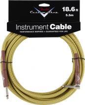 Fender Cable 5,6 M Coude Tweed Custom Shop Series