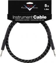 Fender Cable 1,5 M Noir Tweed Custom Shop Series