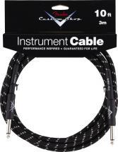 Fender Cable 3 M Noir Tweed Custom Shop Series