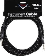 Fender Cable 5,6 M Noir Tweed Custom Shop Series