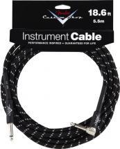 Fender Cable 5,5 M Coude Noir Custom Shop Series