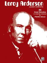 Anderson Leroy - Leroy Anderson, Almost Complete - Piano