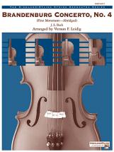 Bach Johann Sebastian - Brandenburg Concerto No4 - String Orchestra