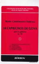 Castelnuovo Tedesco M. - 24 Caprichos De Goya Op. 195 - Vol. 1