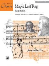 Joplin Scott - Maple Leaf Rag - Piano Solo