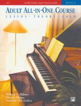 Palmer Manus And Lethco - Alfred Adult All-in-one Course 2 Book - Piano