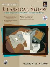 Gunod Nathaniel - Progressive Classical Solos + Cd - Guitar