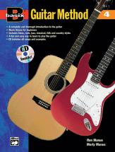 Manus Morton - Basix Guitar Method Book 4 + Cd - Guitar