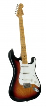 Fender Custom Shop Stratocaster Postmodern Journeyman 3 Color Sunburst + Etui