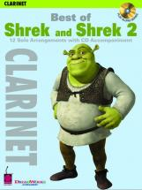 Shrek And Shrek 2, Best Of + Cd - Clarinet And Piano