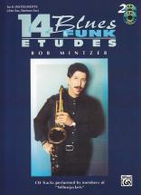 Mintzer Bob - 14 Blues & Funk Etudes Sax Alto And Baritone + 2 Cd