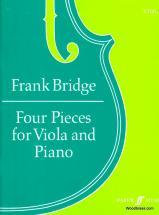 Bridge Frank - Four Pieces - Viola And Piano