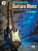 Rubin Dave - Initiation A La Guitare Blues + Cd