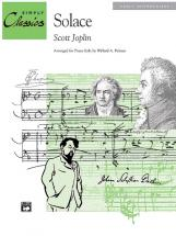 Joplin Scott - Solace A Mexican Serenade - Piano Solo