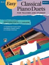 Kowalchyk And Lancaster - Easy Classical Piano Duets Book 2 - Piano Duet
