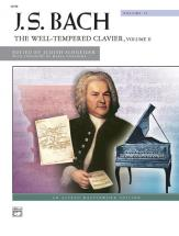 Bach J.s. - Well Tempered Clavier 2 - Piano Solo