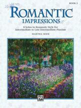 Mier Martha - Romantic Impressions Book 3 - Piano