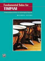 Peters Mitchell - Fundamental Solos For Timpani - Percussion Solo