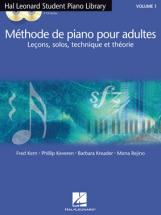 HAL LEONARD METHODE DE PIANO POUR ADULTES VOL.1 + 2 CD