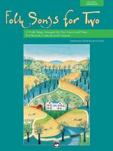 Althouse Jay - Folk Songs For Two + Cd - Vocal Duet