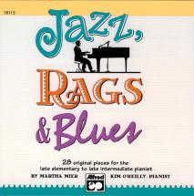 Mier Martha - Jazz, Rags And Blues Books 1-3 + Cd - Piano