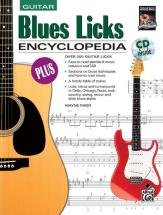 Riker Wayne - Blues Licks Encyclopedia + Cd - Guitar
